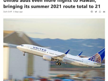OCからハワイへの直行便