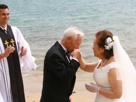 結婚51周年をサプライズでお祝いする話