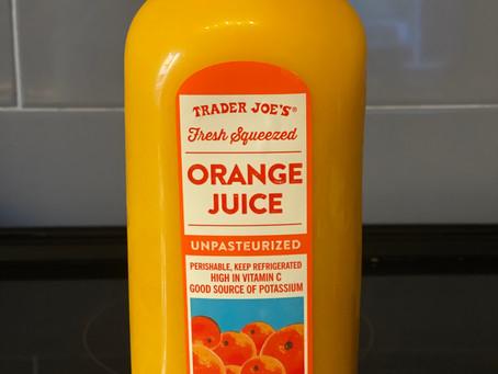 トレジョのオレンジジュースはこれ。