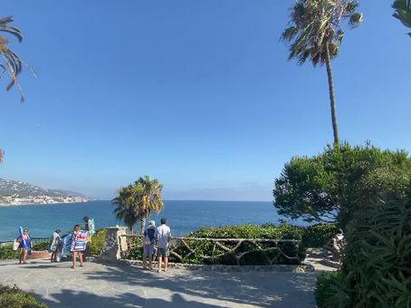 ラグナビーチの大好きな場所。