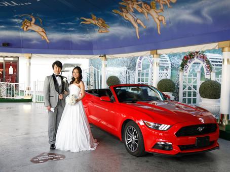 ラスベガスで人気の結婚式。