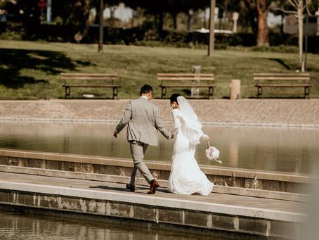 国際結婚。