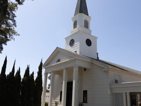 オレンジカウンティの教会。