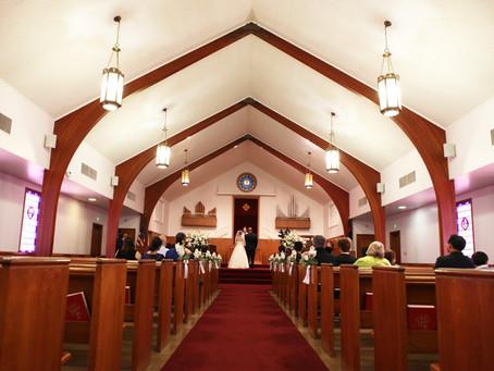 トーランスに佇む教会。