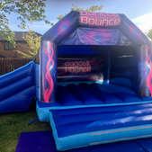 Disco Bouncy Castle / Slide Combo