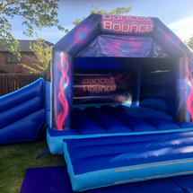 Disco Bouncy Castle / Slide Combo