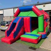 Front Slide Disco Combo Castle 13x18ft