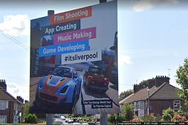 Liverpool Road Sign