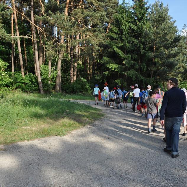 Zeltlager - Wanderung