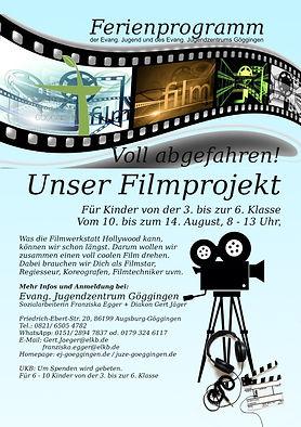 Sommerferienprogramm 2020 - Filmprojekt.