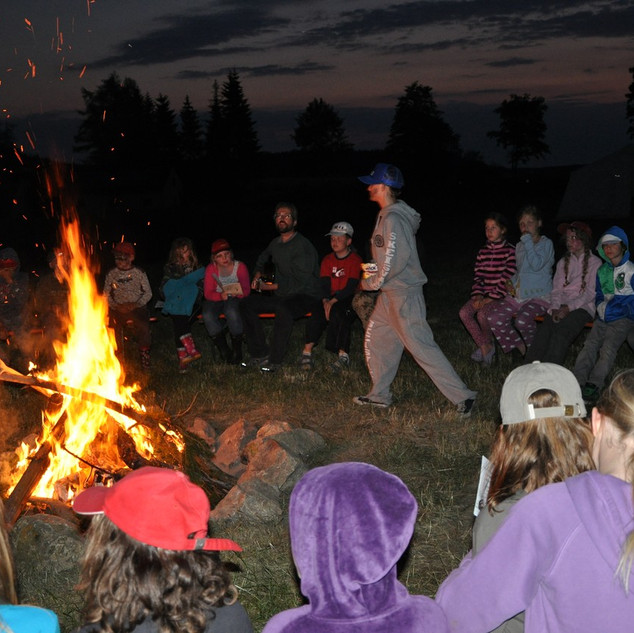 Zeltlager - Theater am Lagerfeuer