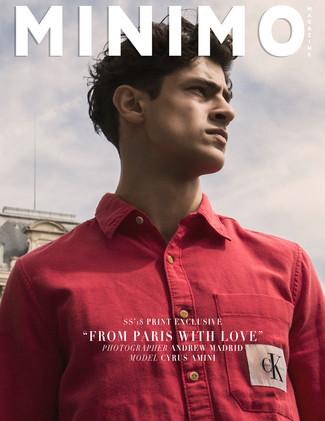 Minimo Magazine Print Exclusive: Cyrus Amini @ MP Paris by Andrew Madrid