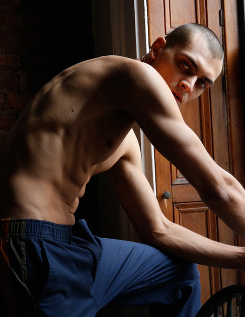 Online Exclusive: Kirrill Kabachenko by Andrew Madrid ft. Isabel Marant Man