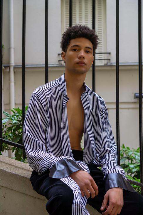 Minimo Magazine Paris Exclusive: Yvan Gurung & Leeroy Rozan by Ussi'n Yala