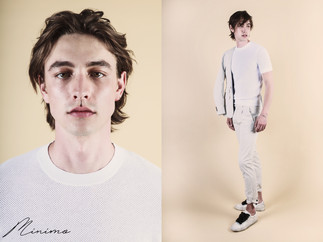 Minimo Homme Excluive: Philip Mayberry by Andrew Madrid