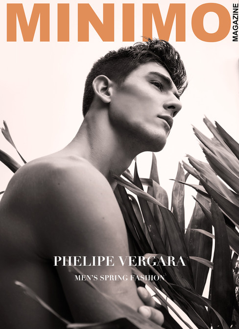 Minimo Magazine Exclusive: Phelipe Vergara by Andrew Madrid