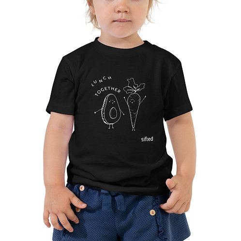 Toddler Short Sleeve Lunch Together Tee