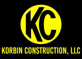 WBE Certified Korbin Construction