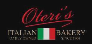 Oteri's Italian Bakery, WBE Certified!