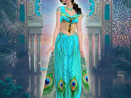 Diseño de la princesa Jasmín