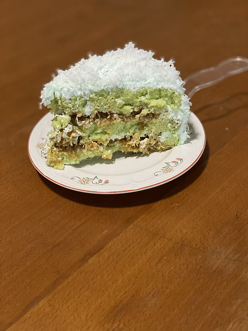 8x Sliced Ondeh Ondeh Cake