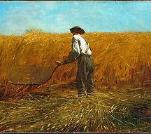 The Veteran in a New Field by Winslow Ho