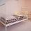 Thumbnail: סט מצעים למיטת תינוק/מעבר צבע מוקה