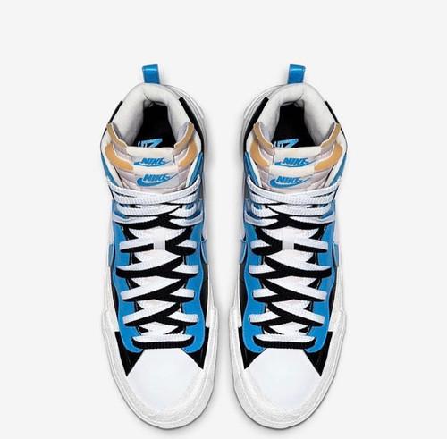 f07b5fdee215f SACAI x Nike Blazer Mid 'Black Blue'