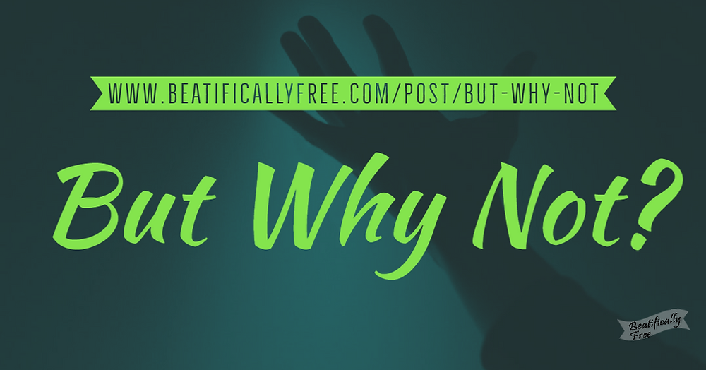 A hand reaching out.  Buy Why Not?  Beatifically Free Encouragement