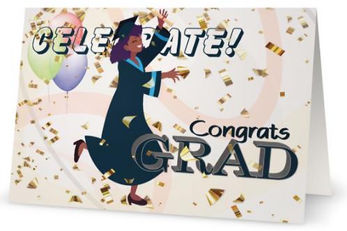 Congratulations, Graduate, Celebrate, Erica Spruill, Beatific Expressions, Card, Greeting Card, Stationery