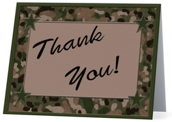 Thank You Military (Front)