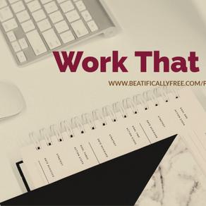 Work That Plan!