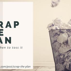 Scrap The Plan