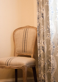 Dining room custom curtains