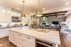 Open Concept Kitchen, Living Room