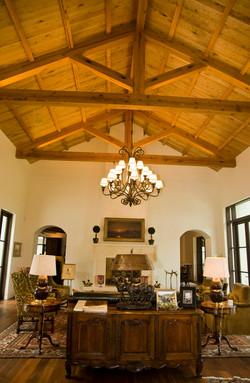 Sitting Room- high ceilings