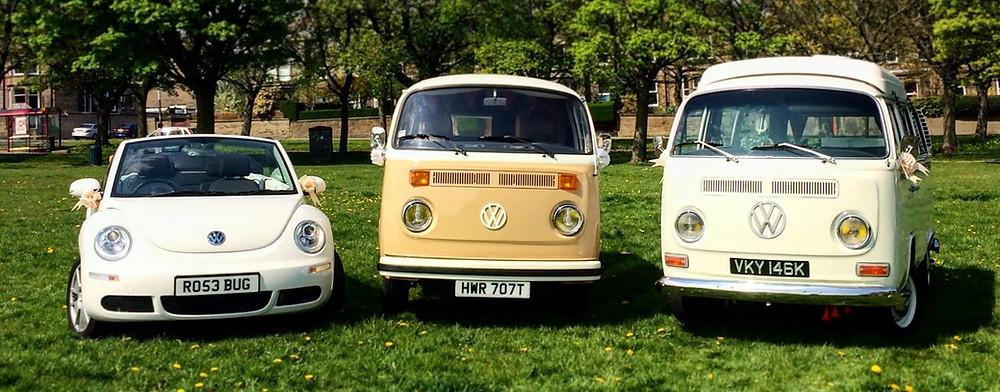The Volkswagen Wedding Co. Fleet