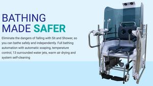 Sit & Shower: Bathing Made Safer