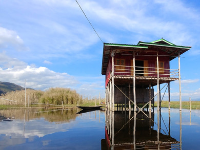 Inle, coté lac