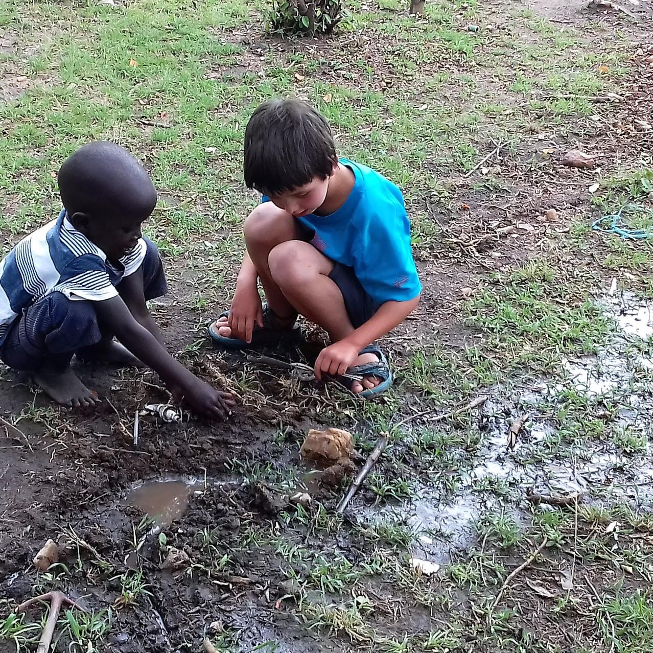 Des heures de patouille dans la boue