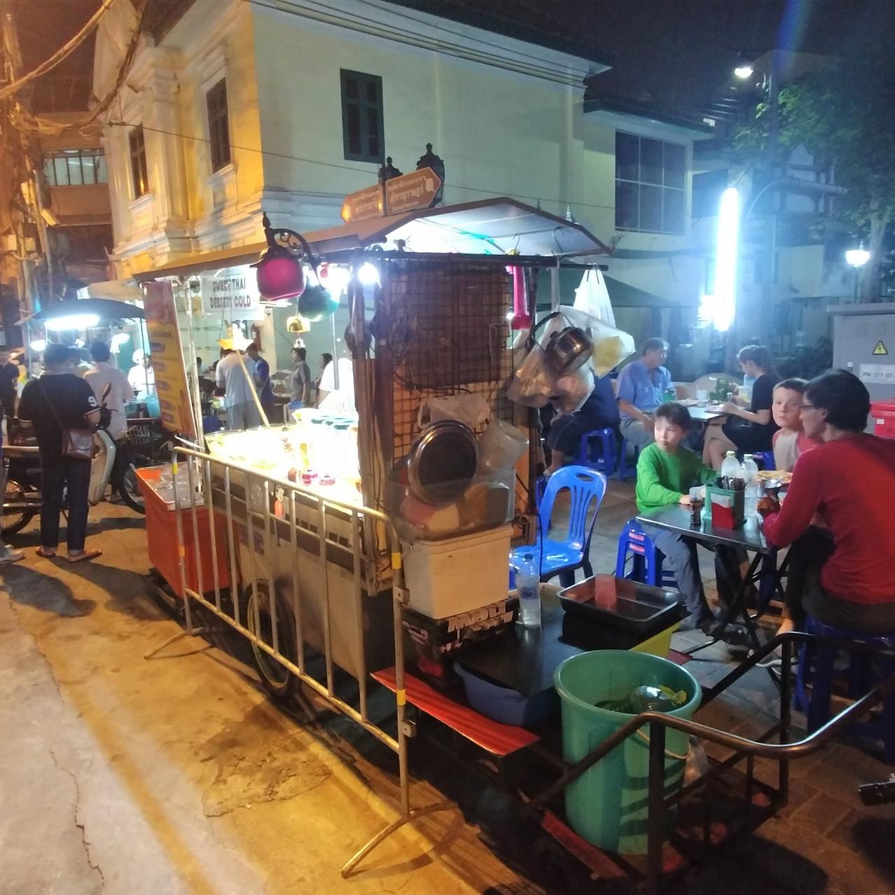 Bangkok et la street food