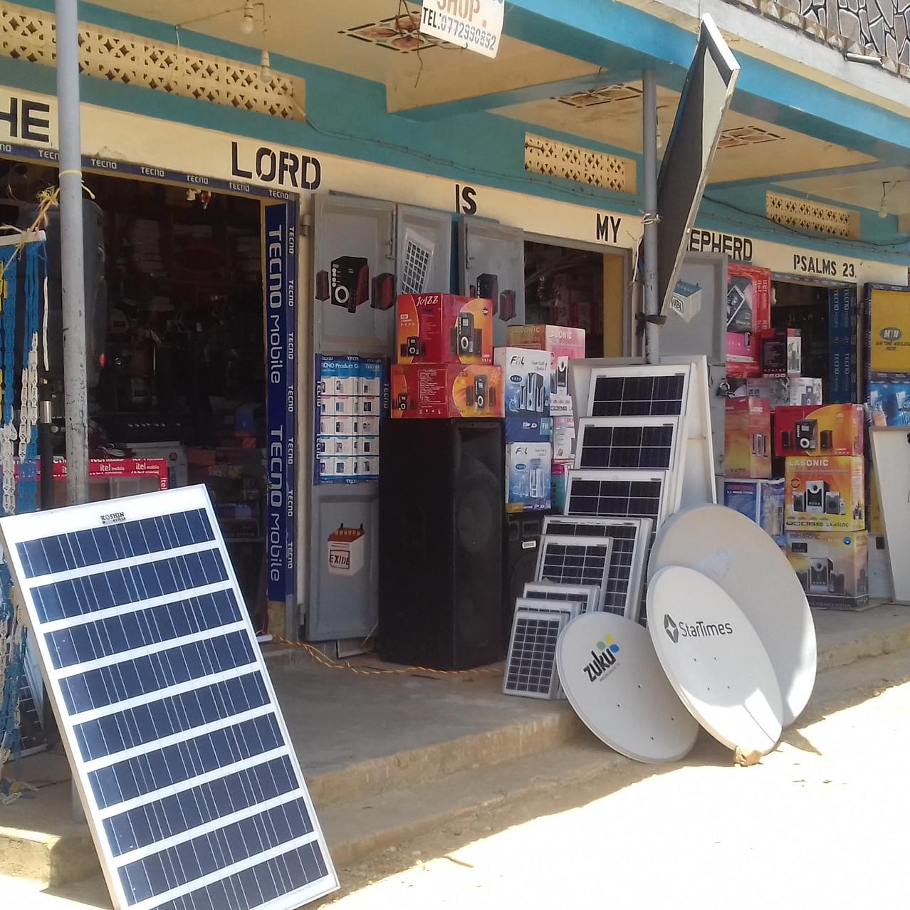 Marchand de panneaux solaires