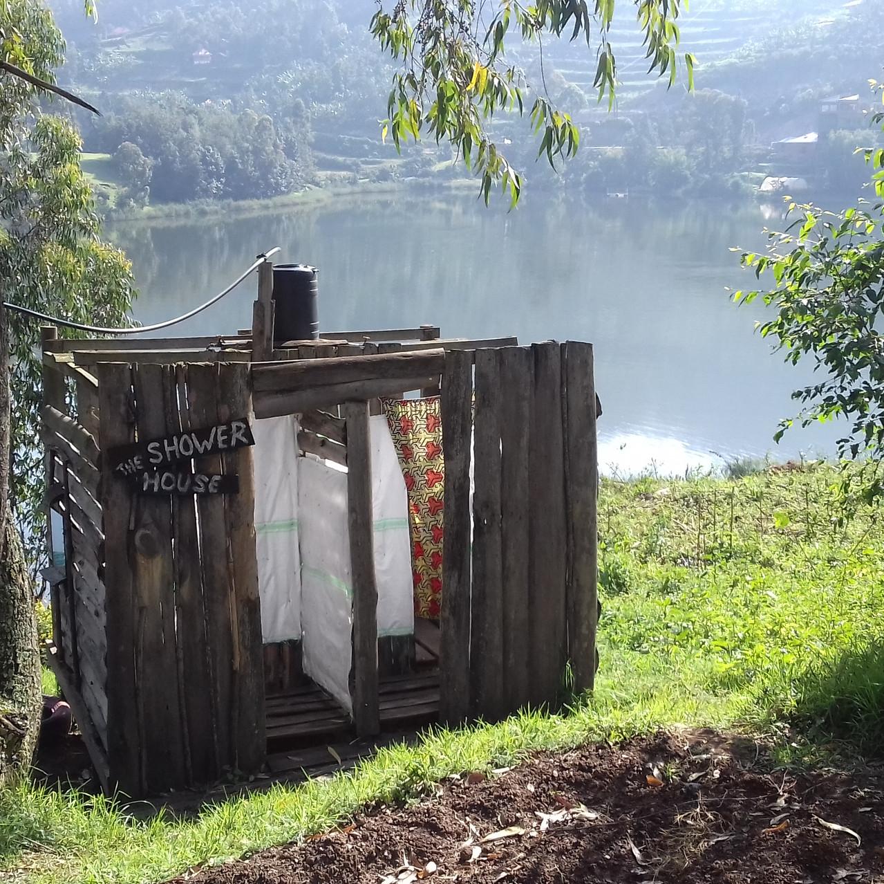 la salle de bain rustique