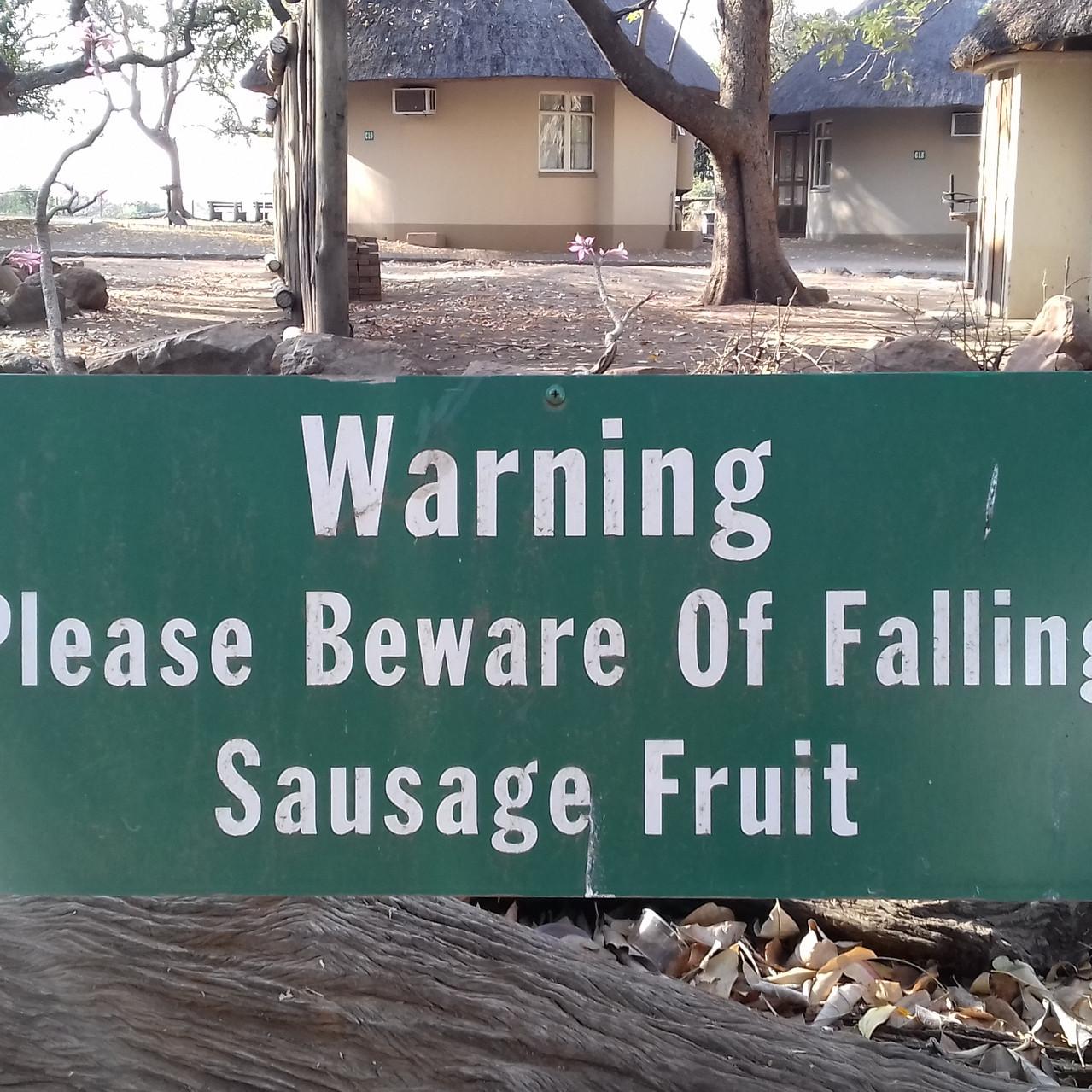 Attention aux saucisses