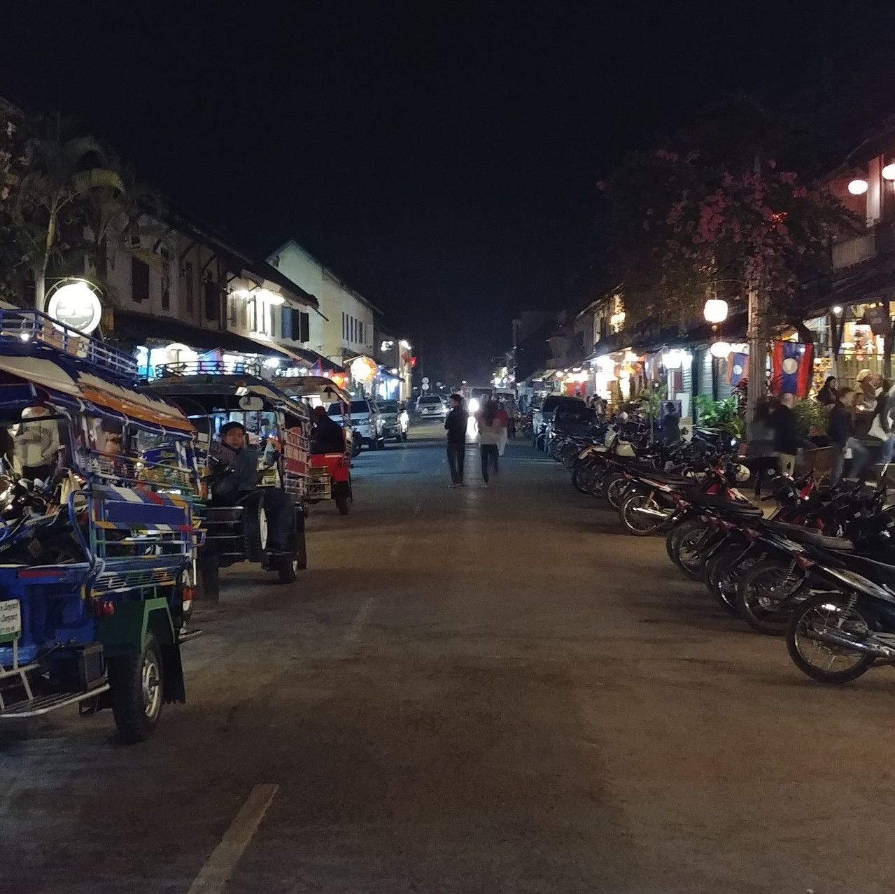 Rue principale, Luang Prabang