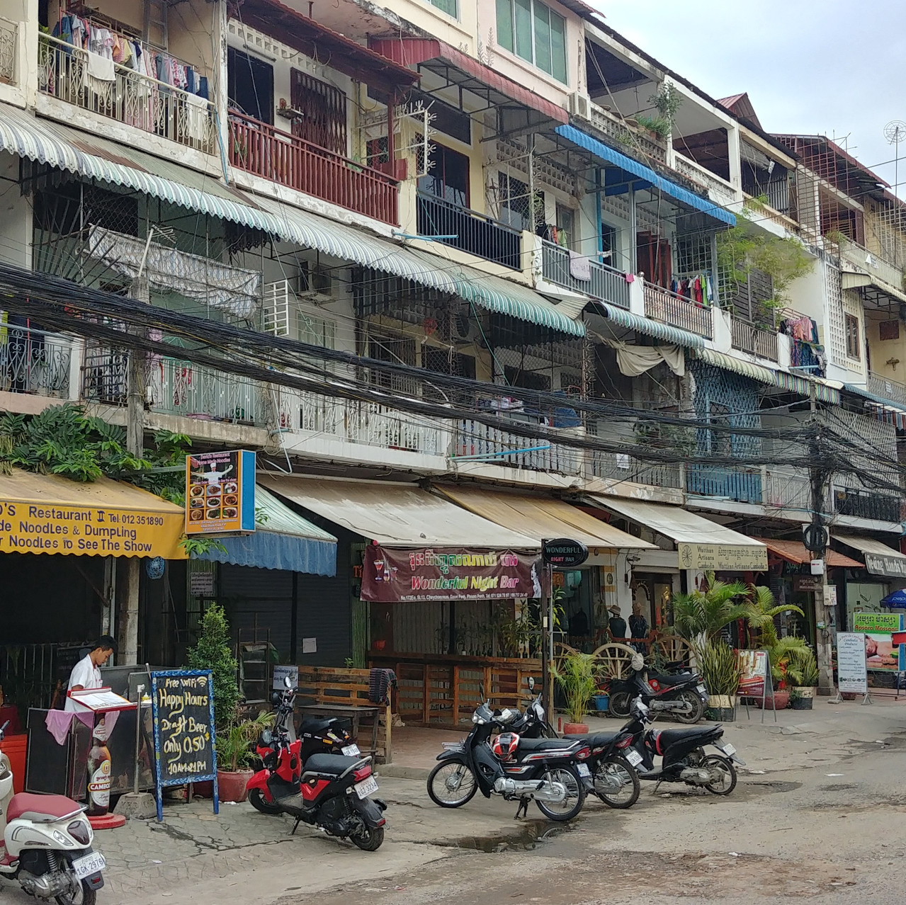 Rue de Phnom Penh