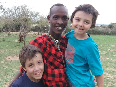 Fascinante culture Maasaï