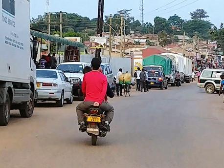 Kampala, jungle urbaine