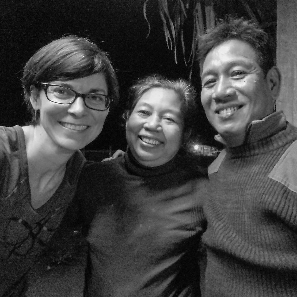 avec Phyu Phyu et Ko Ko Naing