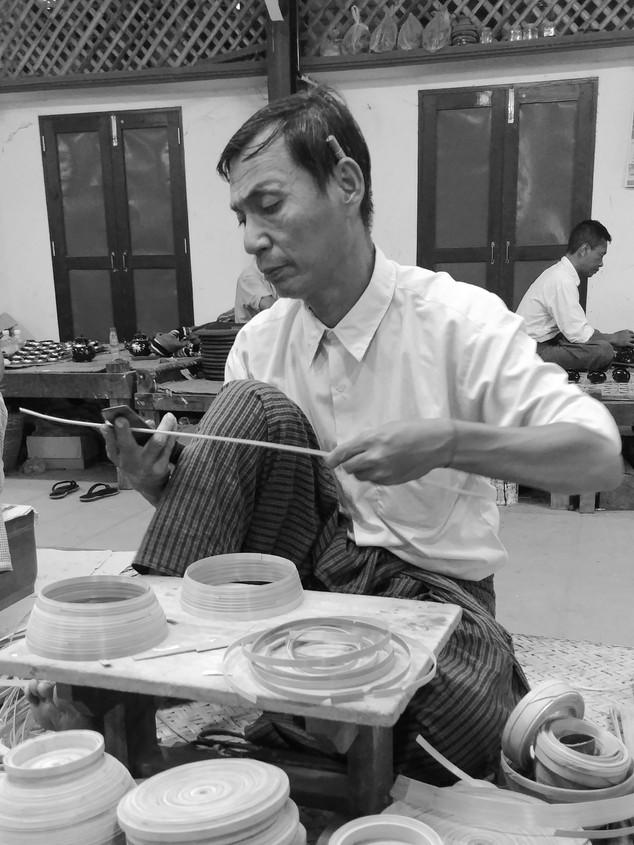 artisanat birmanie myanmar lacquerware